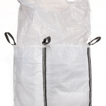 Pannel bag with duffle top